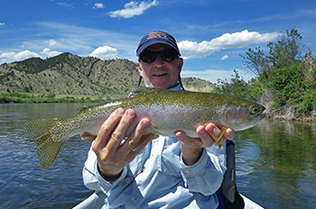 Yellowstone River Rainbow
